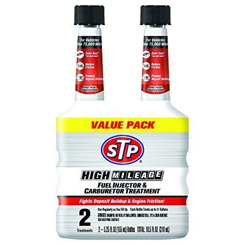 STP Fuel Injector & Carburetor Treatment + Upper Cylinder Lubricant (5.25 fl. oz.) (pack of 2)
