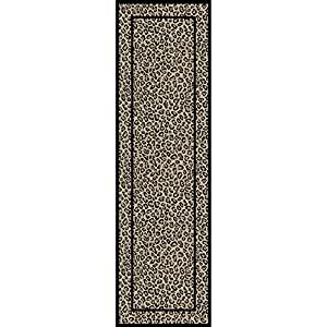 "Concord joya leopardo BEIGE 2'3""x7' alfombra de 7"""