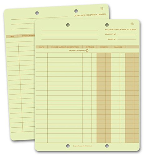 EGP One Write Ledger Card