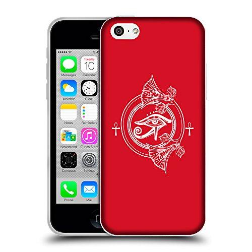 GoGoMobile Coque de Protection TPU Silicone Case pour // Q09820624 Religion 22 Cadmium Rouge // Apple iPhone 5C