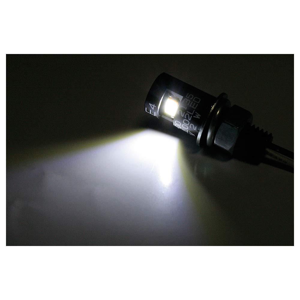SHIN YO Luz led redonda para matr/ícula Negro