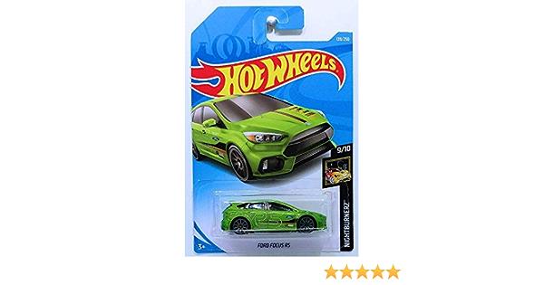 Ford Focus RS grey OVP NEU NEW HW Nightburnerz 139//250 F4YF8 Hot Wheels 2019