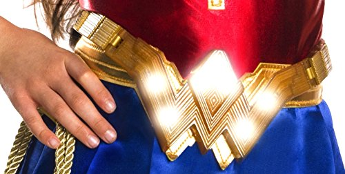 [Imagine by Rubies Wonder Woman Light Up Belt Costume] (Light Up Costumes For Adults)