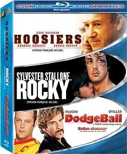 Jock Collection (Dodgeball/Hoosiers/Rocky) [Blu-ray]