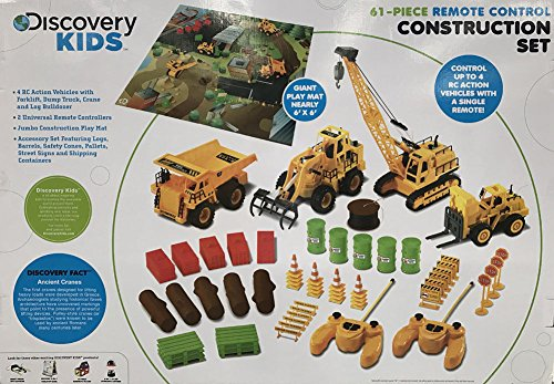 Discovery Kids 61-Piece Remote Control Construction Set