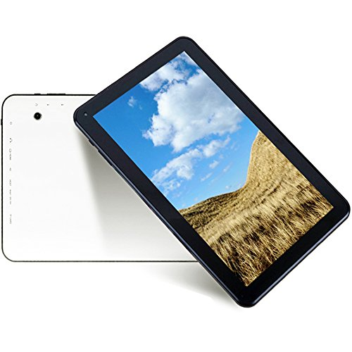 Hipo 10.1 Inch Tablet Octa Core Android 5.1 Tablet PC 1GB RAM /16GB ROM 1024X600 TN Screen Wifi HDMI Bluetooth 4.0 Dual Camera Micro USB by Hipo