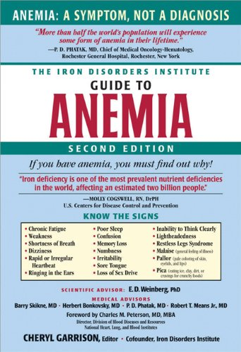 The Iron Disorders Institute Guide to Anemia (Best Y Level For Iron)