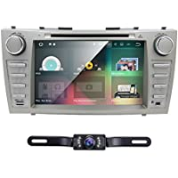 Android 7.1 Quad Core Car DVD Player For Toyota Camry 2007 - 2011 Aurion 2006 - 2011 8 Inch Screen GPS Navi BT Radio RDS DTV USB Android/iPhone Mirrorlink SWC Rearview camera USA Map