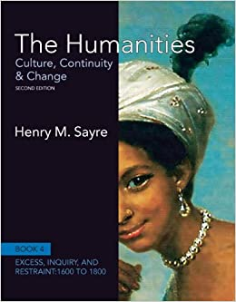 The Humanities: Culture, Continuity and Change, Book 4: 1600 to 1800 (Humanities: Culture, Continuity & Change) 9780205013333 Higher Education Textbooks at amazon