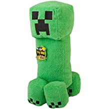 "JINX Minecraft 14"" Creeper Plush Stuffed Toy with ""SSSsss Boom!"" sound"
