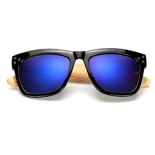 VeBrellen Gafas de Sol de Moda Estilo Wayfarer y Aviador Marca Retro Vintage Baratas para Mujer y Ho...