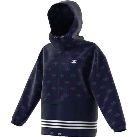 64c06cdb916c ADIDAS Damen Windbreaker Jacke, Blau, 36  Amazon.de  Sport   Freizeit