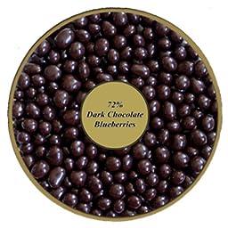 72% Dark Chocolate covered Blueberries