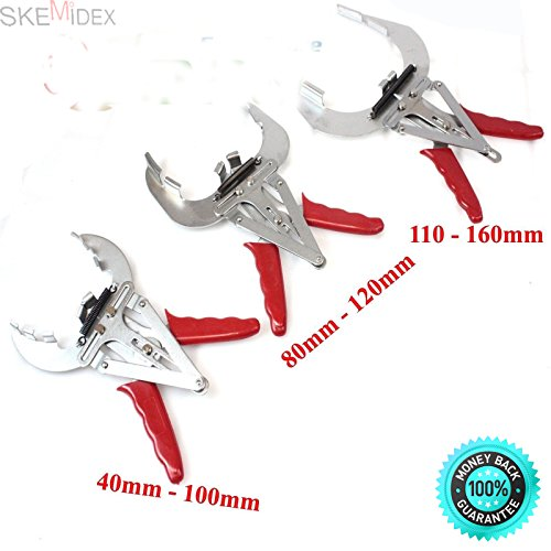 SKEMiDEX---3 Piston Ring Quick Installer Remover Engine Pliers 40- 160mm Expander. The piston ring pliers used to remove and mount piston rings easily and quickly, without damage and bump