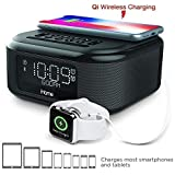 iHOME IBT20GC Bluetooth Wireless Clock Radio Black: Amazon