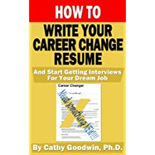 How To Write Your Career Change Resume