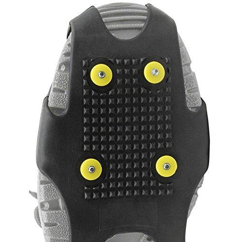 """ejendals 8018-xl Tamaño XL """"8018slip-protector Protección antideslizante, color negro"""