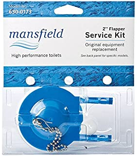 UNIV FLAPPER KIT 2  by MANSFIELD MfrPartNo 630 0173Flapper Replacement 3   Mansfield    Toilet Flappers   Amazon com. Toilet Flapper Replacement Kit. Home Design Ideas
