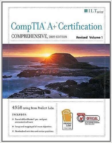 Descarga gratuita de libros de la vida de pi.CompTIA A+ Certification: Comprehensive 2 Volume Set (Ilt Series) en español PDF 142602178X