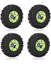 Neumático de Coche RC, 1/12 Rueda de Neumáticos RC Accesorios de Piezas Modelo para Wltoys 12428 12423 Car