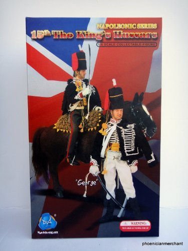 DiD Action Figure Napoleonic Series 15th The King's Hussars George by DID [並行輸入品] B01IWZ5G76