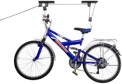 RAD Cycle Products Bike Lift Hoist Garage Mountain Bicycle Hoist 100LB Capacity by RAD Cycle Products