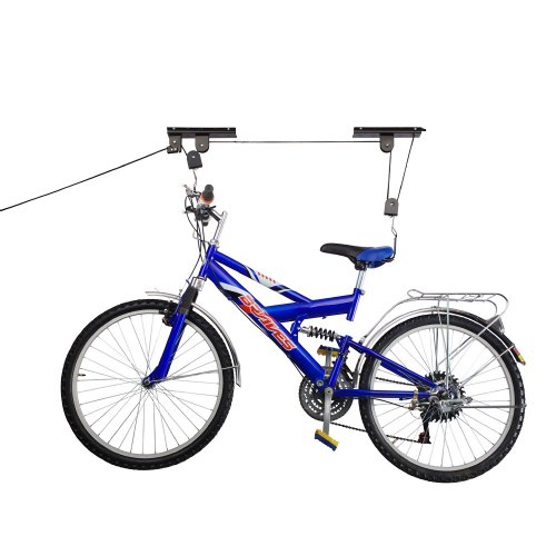 RAD Cycle Products Bike Lift Hoist Garage Mountain Bicycle Hoist 100LB Capacity (2-Pack) (Davinci Bike Rack)
