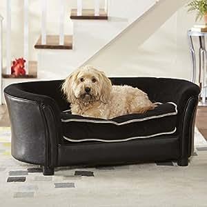 Amazon.com: Enchanted Home Pet Ultra Plush Panache sofá cama ...