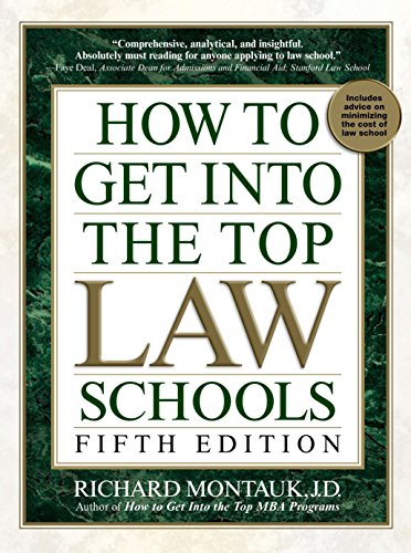 Pdf Test Preparation How to Get Into the Top Law Schools: Fifth Edition