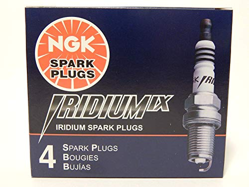 4 New NGK Iridium IX Spark plug BKR8EIX #