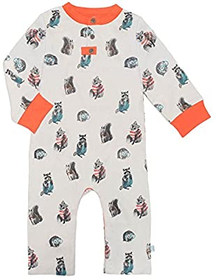 Finn + Emma Organic Cotton Coverall Jumpsuit for Baby Boy Girl