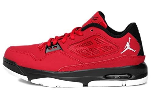 7f8be61e43d Jordan Kids Grade School Flight 23 RST Low (Gs) Red Black White 525513-