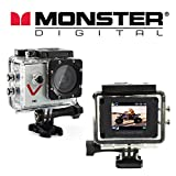 : Monster Vision Sport Action Camera 720p 30fps Includes Accessories [CAMVI-0720-A]