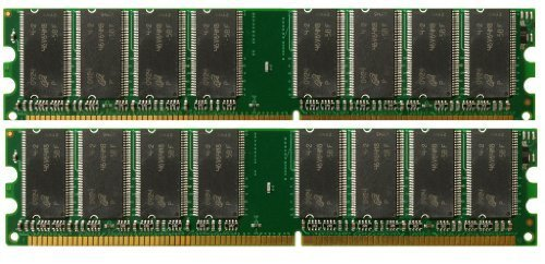 1GB 2x512MB PC3200 DDR-400 184p DIMM Desktop Memory - Ram Corsair Dimm 512 Mb