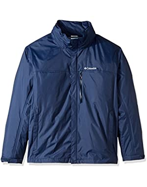 Men's Big-Tall Pouration Jacket, Collegiate Navy, 4XT