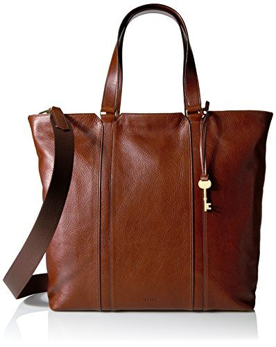 Fossil Maya Work Tote, Brown