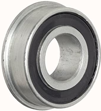"""RBC Heim Ball Bearing  RF102214PP  Flanged, Double Sealed, 0.625"""" Bore, 1.375"""" OD, 0.438"""" Width"""