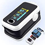 Pulse oximeter fingertip with Plethysmograph and