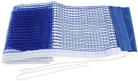DealMux de Nylon Plegable de Malla Pingpong reemplazo Mesa de Ping Pong Neto Azul 180cm x 16cm
