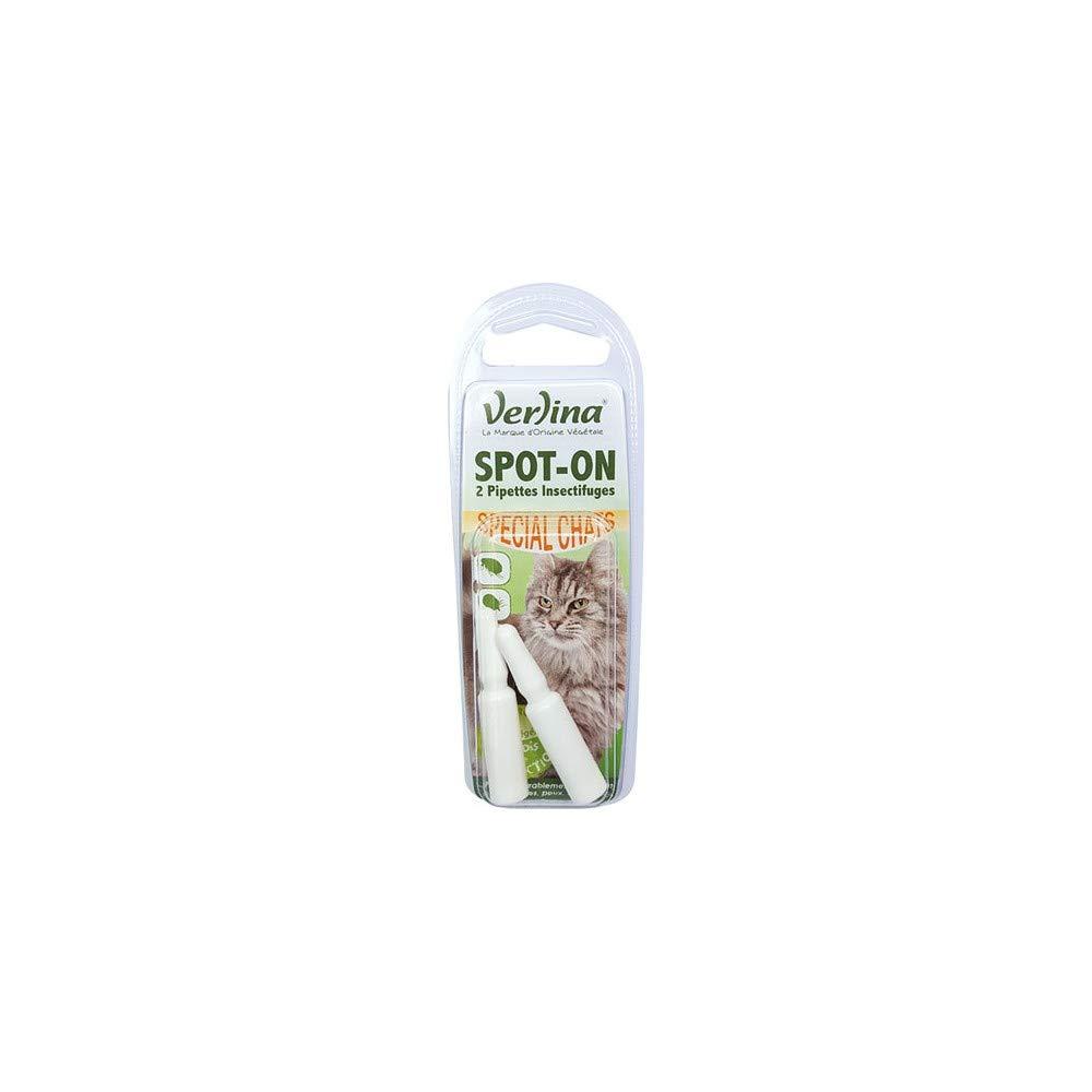 verlina - Spot-on (2 pipetas insectifuges) gatos: Amazon.es ...