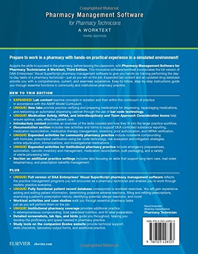 Pharmacy Management Software for Pharmacy Technicians: A Worktext - http://medicalbooks.filipinodoctors.org