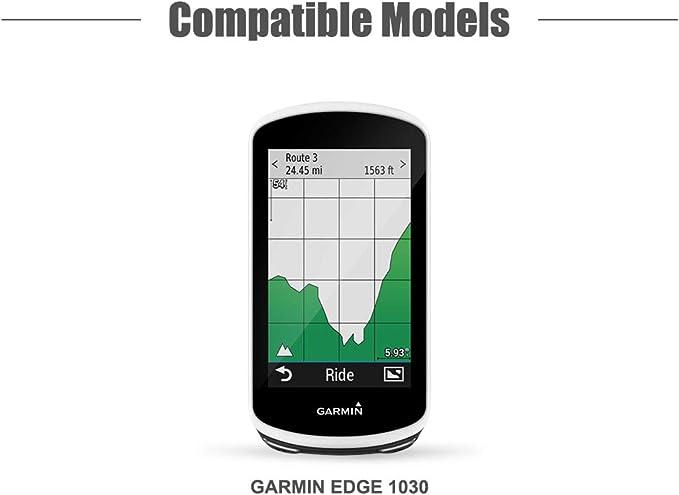 TUSITA Funda para Garmin Edge 1030 Plus - Protectora de Silicona ...