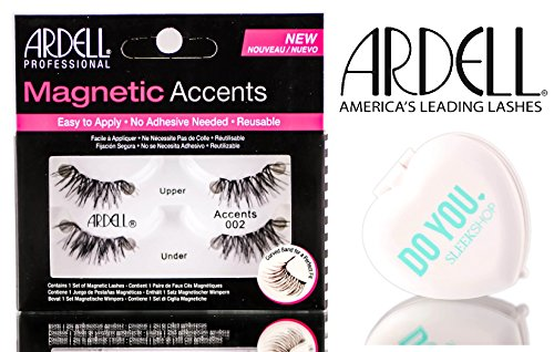 Ardell Professional Magnetic Lashes (with Sleek Compact Mirror) (ACCENTS 002)