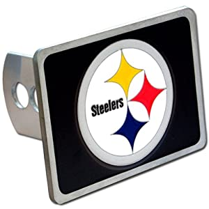 Pittsburgh Steelers NFL Hitch Cover, Class II & III from SteelerMania