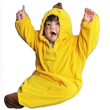 Romote baby sacco a pelo carino cartone animato banana sacco a pelo