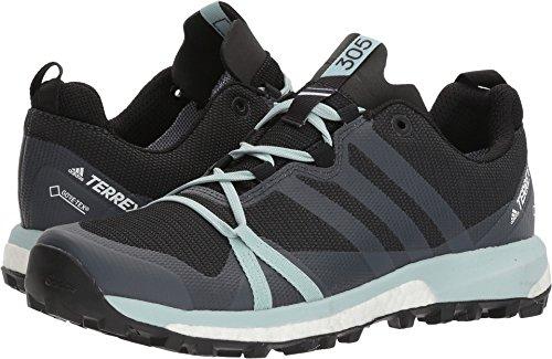 wholesale dealer 21da9 9d4ff adidas outdoor Womens Terrex Agravic GTX CarbonGrey ThreeAsh Green 6.5 B  US