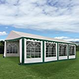 New MTN-G 16 2/5'X26' Tent Shelter Heavy Duty Outdoor Party Wedding Canopy Carport Green