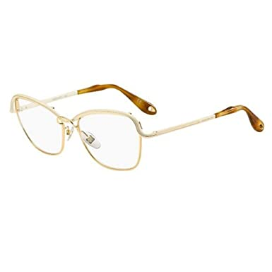 a82c7a7e45c4 Image Unavailable. Image not available for. Color: Givenchy GV 0034 Gold  Beige Eyeglasses