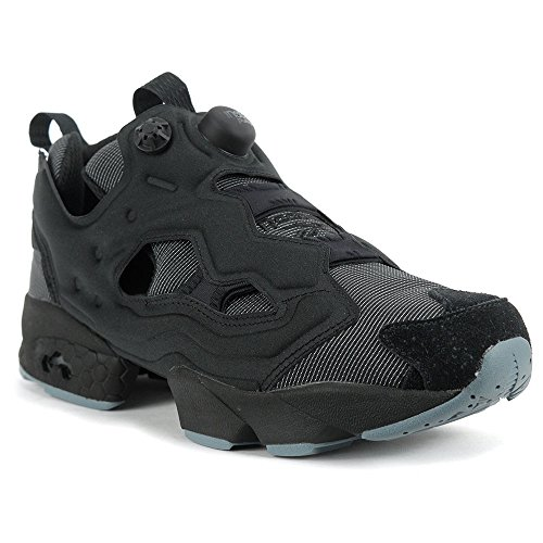 Reebok Men's Instapump Fury MTP Black/Stonewash Shoes BD1502 (Reebok Custom Fit Pumps)