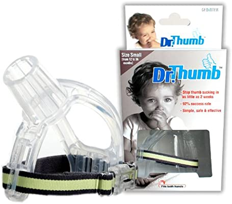 Ddfly Thumb Sucking Stop Finger Guard Children Thumb Sucking Treatment Kit for
